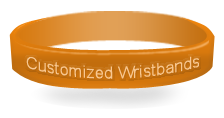 Order Customized wristbands